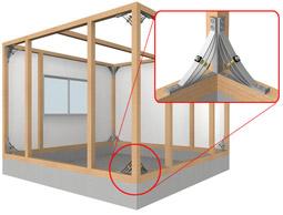 制震・補強金物「ボウシン」:耐震工法について